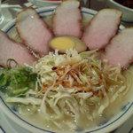 らあめん英 - チャーシュー麺