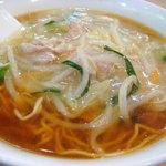 玉泉亭 - サンマー麺