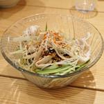 鼓次郎 - よだれ豚のサラダ