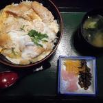 登利平 - かつ丼(鳥)830円