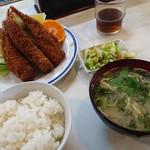 きさらぎ亭 - 2017/2 海老クリームフライ定食