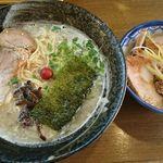 えんの助 - 料理写真:とん塩セット(ご飯は、チャーシューご飯)