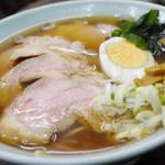 松葉 - チャーシュー麺