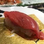 第三春美鮨 - チュウボウマグロ 中トロ 腹上二番 46.6kg 熟成8日 定置網 高知県宿毛(スクモ)