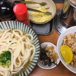 いぶきうどん - セット☆★★☆日替わり