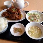 中華料理 五行山 - からあげ定食