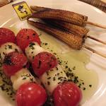 ブラーリ - トマトチーズとヤングコーン