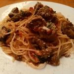 坂の上レストラン - 超熟成和牛のナポリターナ 肉のうま味たっぷり