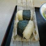 海鮮焼 弥太郎 - おにぎり・・・美味かった。