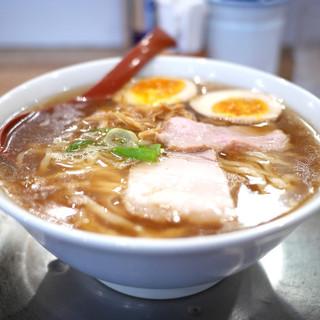 麺や 七彩 - 料理写真:味玉喜多方らーめん(醤油)