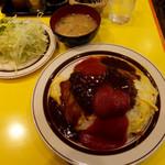 キッチンABC - オムライスセット・大盛950円(大盛りプラス150円)