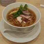 銀座 篝 - 煮干中華SOBA(900円)