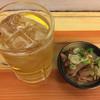 いづみや - 料理写真:ホッピー400円&もつ煮込み170円