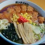 旭川ラーメン熊ッ子 - 料理写真:ジャンボカツラーメン