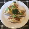 sandwich CLUB HOUSE - 料理写真:エビフライとタルタルソースのサンドウィッチ