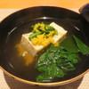 町家懐石 六花 - 料理写真:能登の原木椎茸のしんじょう