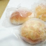 ピーターパン - メロンパン100円 クリームパン100円 塩パン80円