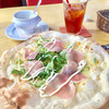 カフェ レストラン グラッチェ - 料理写真:生ハムと水菜のピッツァ