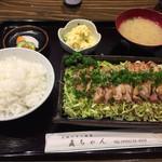 直ちゃん - 日向鶏タタキ風定食