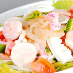 辣醤厨火 味くら - 海鮮サラダ