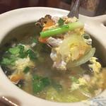ジャスミンタイ - 豚肉とたまごのスープ
