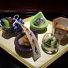 馳走なかむら - 料理写真:◆八寸。器は「菱餅型」