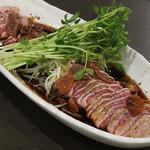 梅田ホルモン堂 - 丸ごと一本の豚タン