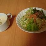 63712960 - サラダとスープ