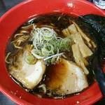 いろは - 料理写真:富山ブラック黒醤油らーめん
