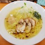 富白 - 鶏塩拉麺+味玉\740(17-03)