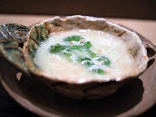 虎白 - 煮物  松葉蟹うす葛煮