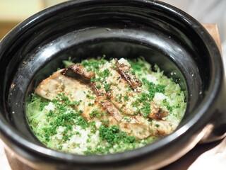 虎白 - ブリの炊き込みご飯