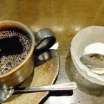 銀座 竹の庵 - デザートとコーヒー