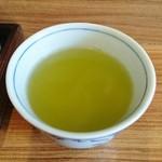 和亭 一 - 番茶も美味しい!