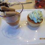 オリエンタルホテル - ダークチョコレートとみかんのヴェリーヌ +ウェディングケーキ