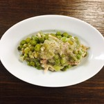ビーボデイリースタンド - グリーンピースとレタスのクリーム煮