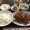 香蘭 - 料理写真:鶏肉のカレー風味炒め(750円)