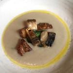 63748078 - 菊芋スープ  ものすごい鯖 小松菜