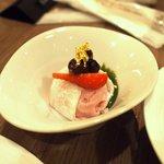 ブッフェダイニング ケッヘル - 加賀風イチゴアイスのかまくら仕立て 抹茶生キャラメルソース