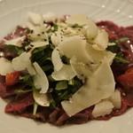 オステリアラブラ - 料理写真:牛肉のカルパッチョ@2,400