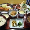 海風亭 寺泊日本海 - 料理写真:ボタンエビフライと地魚入り刺身御膳 ¥1790