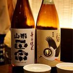かしわや 闘鶏 - 日本酒