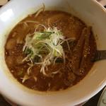 麺つし馬 - 海老味噌カレー