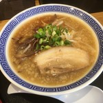 清麺屋 - 鶏のまた炊きとこ豚らーめん790円