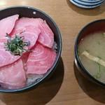 のっけ家 - 料理写真:本鮪大とろ頭肉丼