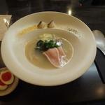 MENSHO - 潮らーめん+味玉(西京漬け)