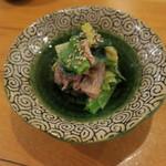 竹政 - 料理写真:かまいのぬた和え1