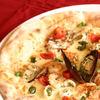 ナポリの風 - 料理写真:薪窯で焼きあげたピッツァ