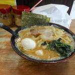 らっち家 - 醤油ラーメン(中)+味玉