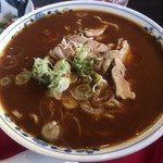 食彩遊膳 まる梅 - 肉中華+カレー麺